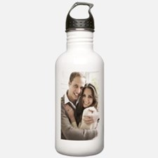 Prince William and Kate Water Bottle