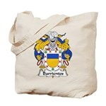 Barrientos Family Crest Tote Bag