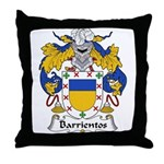 Barrientos Family Crest Throw Pillow
