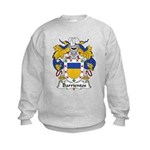 Barrientos Family Crest Kids Sweatshirt