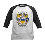 Barrientos Family Crest Kids Baseball Jersey