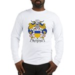 Barrientos Family Crest Long Sleeve T-Shirt
