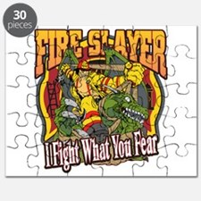 Fire Slayer Firefighter Puzzle