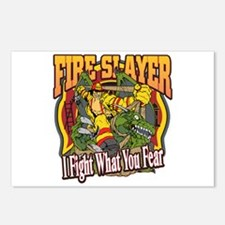 Fire Slayer Firefighter Postcards (Package of 8)