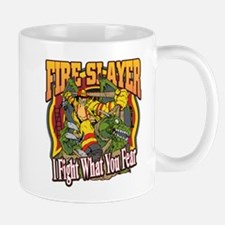 Fire Slayer Firefighter Mug