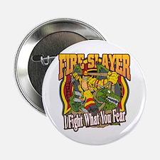 """Fire Slayer Firefighter 2.25"""" Button"""