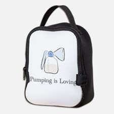 pumping.png Neoprene Lunch Bag