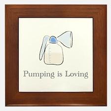 pumping.png Framed Tile