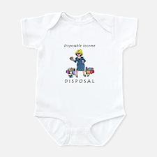 Funny Blonde jokes Infant Bodysuit