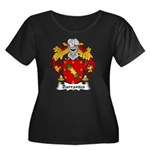 Barrantes Family Crest Women's Plus Size Scoop Nec
