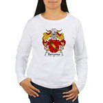 Barrantes Family Crest Women's Long Sleeve T-Shirt