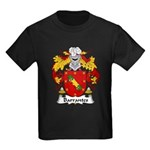 Barrantes Family Crest Kids Dark T-Shirt