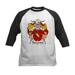 Barrantes Family Crest Kids Baseball Jersey
