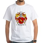 Barrantes Family Crest White T-Shirt