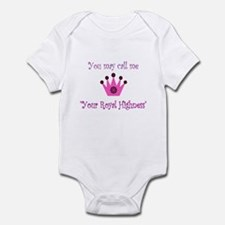 Your Royal Highness Infant Bodysuit