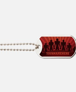 Personalized American Football Dog Tags