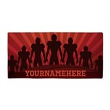 Football personalized Beach Towels