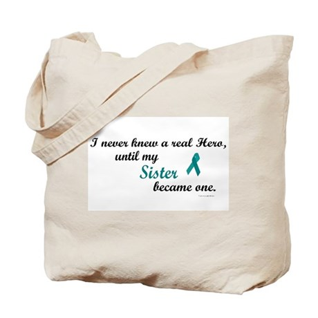 Never Knew A Hero OC (Sister) Tote Bag