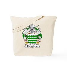 Barcelona Family Crest Tote Bag
