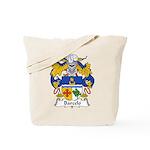 Barcelo Family Crest Tote Bag