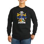 Barcelo Family Crest Long Sleeve Dark T-Shirt