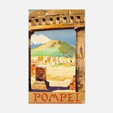 Pompei Italy ~ Vintage Travel Decal