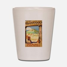 Pompei Italy ~ Vintage Travel Shot Glass