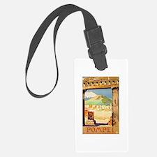 Pompei Italy ~ Vintage Travel Luggage Tag