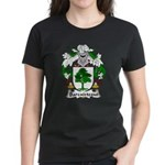 Barcaiztegui Family Crest Women's Dark T-Shirt