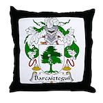 Barcaiztegui Family Crest Throw Pillow
