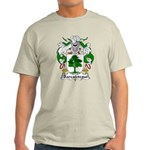 Barcaiztegui Family Crest Light T-Shirt