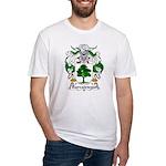 Barcaiztegui Family Crest Fitted T-Shirt
