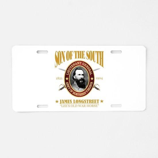Longstreet (SOTS2) Aluminum License Plate
