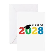 Class of 2028 Greeting Cards