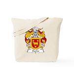 Barbo Family Crest Tote Bag