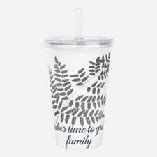 New Family Acrylic Double-wall Tumbler