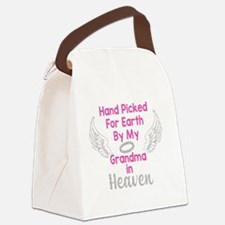 Hand Picked for Earth Canvas Lunch Bag