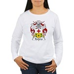Barbena Family Crest Women's Long Sleeve T-Shirt