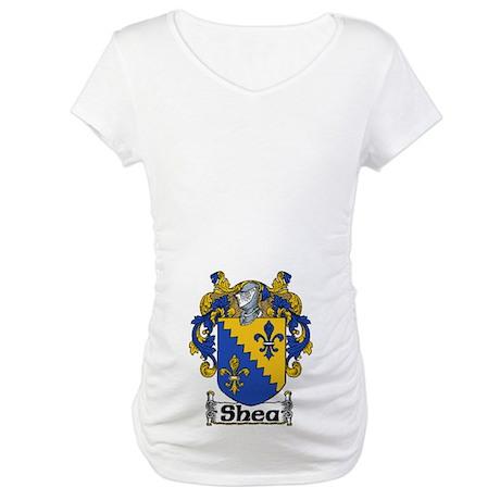 Shea Coat of Arms Maternity T-Shirt
