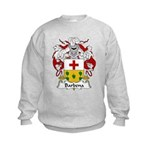 Barbena Family Crest Kids Sweatshirt