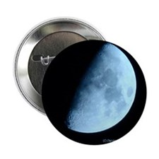 Light Blue Moon Button