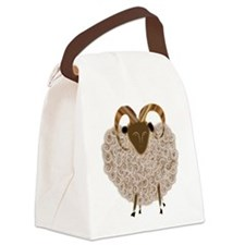 SHEEP.png Canvas Lunch Bag