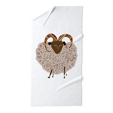 SHEEP.png Beach Towel