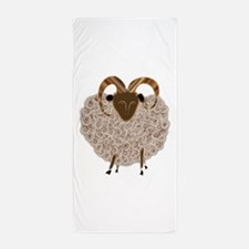 SHEEP.png Beach Towel