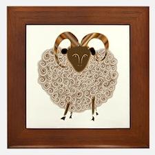 SHEEP.png Framed Tile