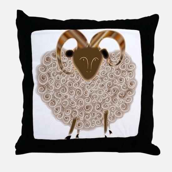 SHEEP.png Throw Pillow