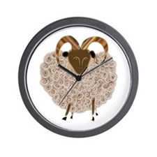 SHEEP.png Wall Clock