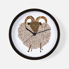 SHEEP.png Wall Clock