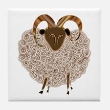 SHEEP.png Tile Coaster