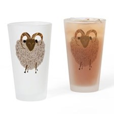 SHEEP.png Drinking Glass
